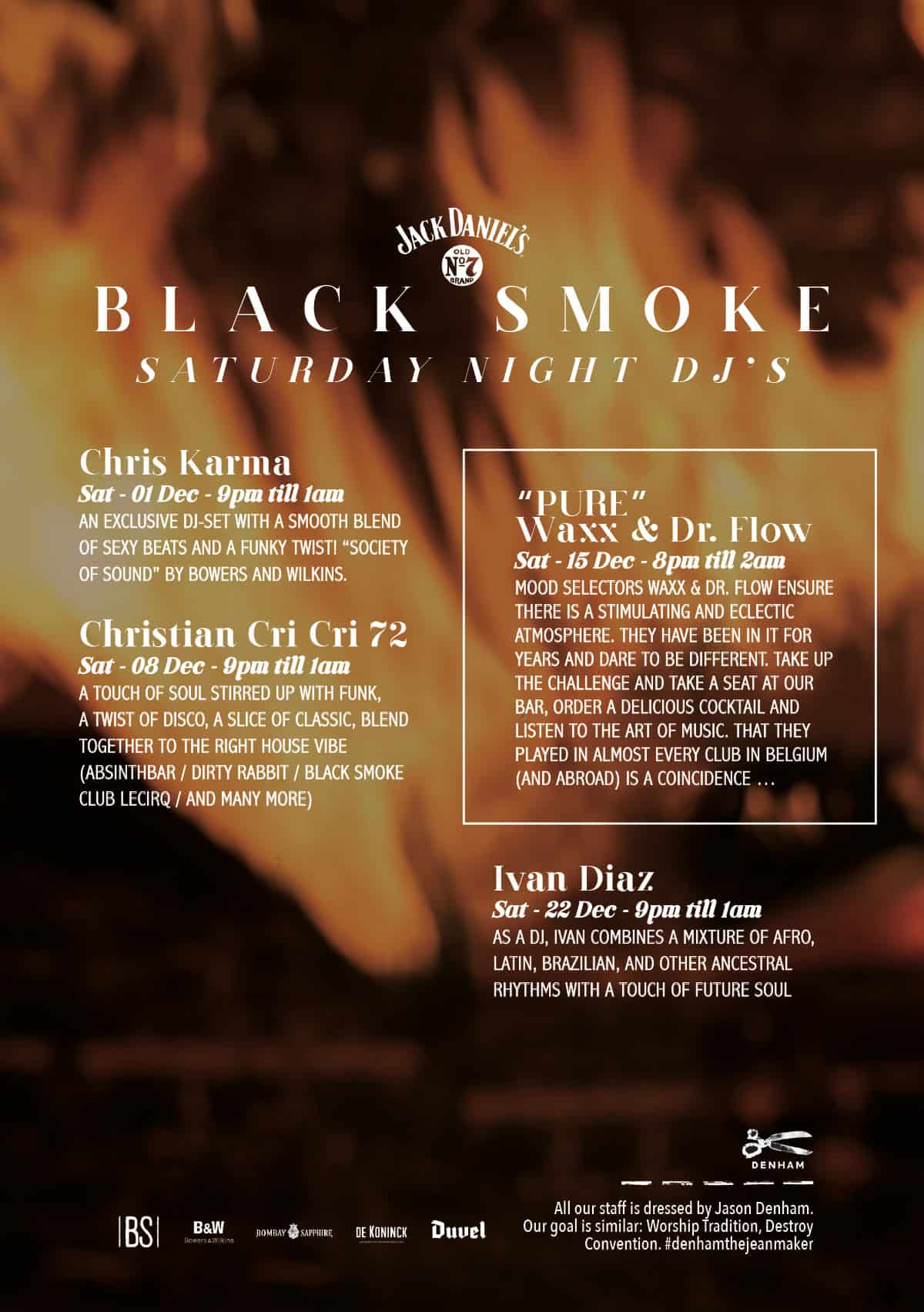 dj black smoke december 2018