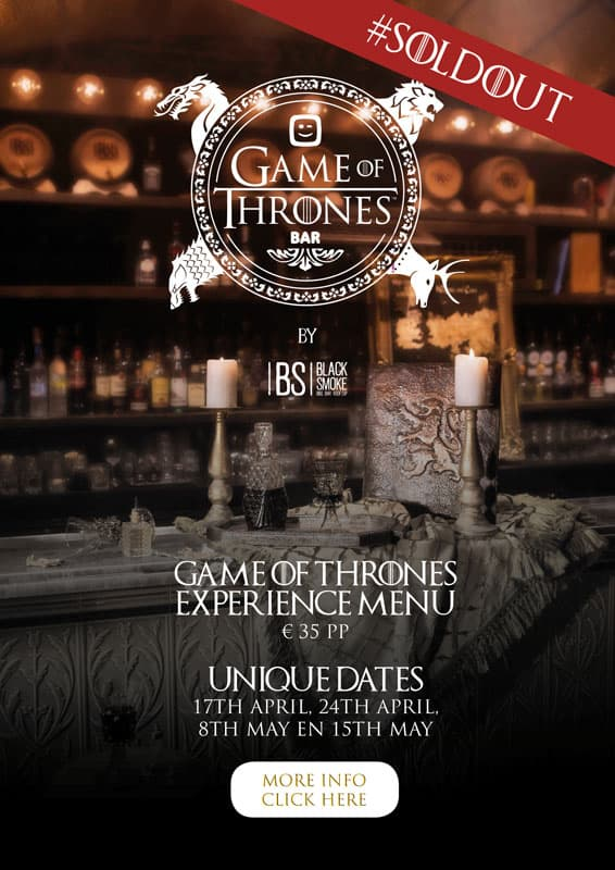 Games Of Thrones experience
